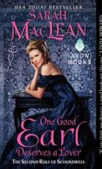 One Good Earl Deserves a Lover: The Second Rule of Scoundrels by Sarah MacLean