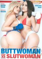 Buttwoman Vs. Slutwoman Adult DVD