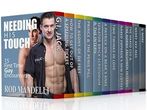 Needing His Touch: 15 First Time Gay Encounters by Rod Mandelli