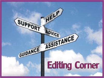 Editing Corner banner