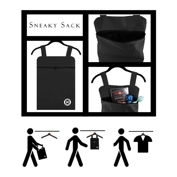 Holistic - Sneaky Sack - Black - Toy Storage