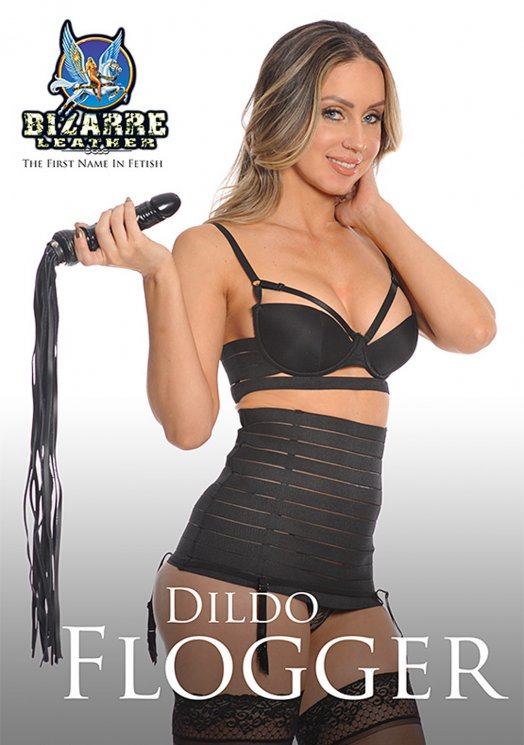 Bizarre Leather Dildo Flogger